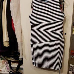 J. McLaughlin  stripped dress